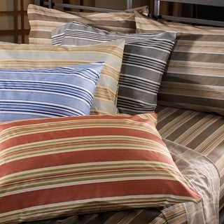 Yardley 300 Thread count Printed Stripe Sheet Set
