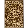 Indoor/ Outdoor Mayaguana Brown/ Natural Rug (9' x 12')