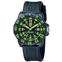 Luminox Navy Seal Green Colormark Watch