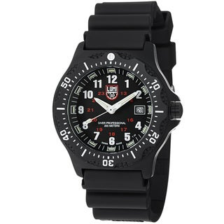 Luminox Black Ops 8400 Series Black Rubber Strap Diver's Watch