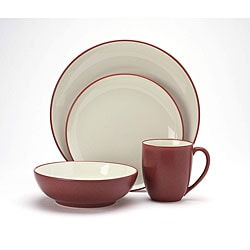 Noritake Colorwave 16-piece Raspberry Dinnerware Set