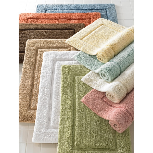 Egyptian European Hand-woven Premier Large 24 x 40 Bath Mat