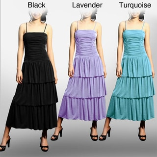 Evanese Women's Three-tiered Dress