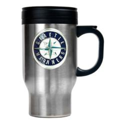 Seattle Mariners 16-oz Stainless Steel Travel Mug