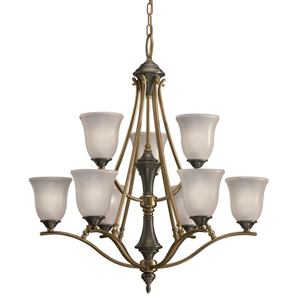 Royal Bronze 9-light Chandelier
