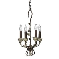 WROUGHT IRON MINI CHANDELIER Chandelier Online