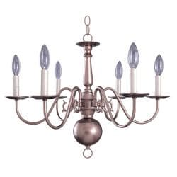 Topaz Mist 6-light Chandelier