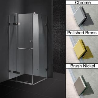 Vigo Frameless Square Clear Shower Enclosure (32 x 32)
