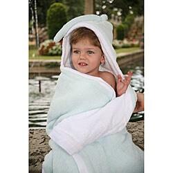 Mia Belle Baby Sky Blue Hooded Bath Towel