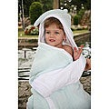 Mia Belle Baby Sky Blue Hooded Bath Towel