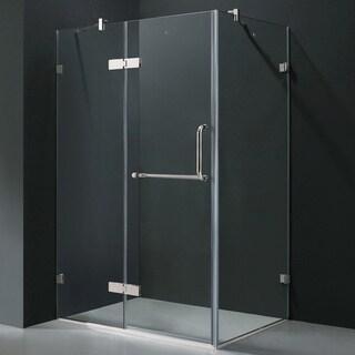 Vigo Frameless Clear Shower Enclosure (32 x 40)