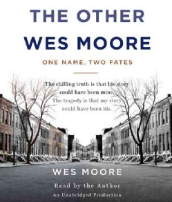 The Other Wes Moore: One Name, Two Fates (CD-Audio)