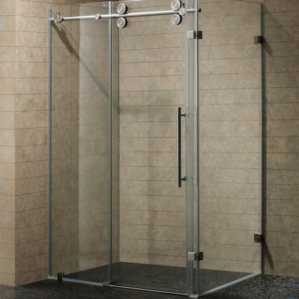 Vigo 36 X 48 Frameless Clear Shower Enclosure 12700225