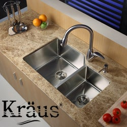 Kraus Kitchen Accessories Steel Sink Strainer
