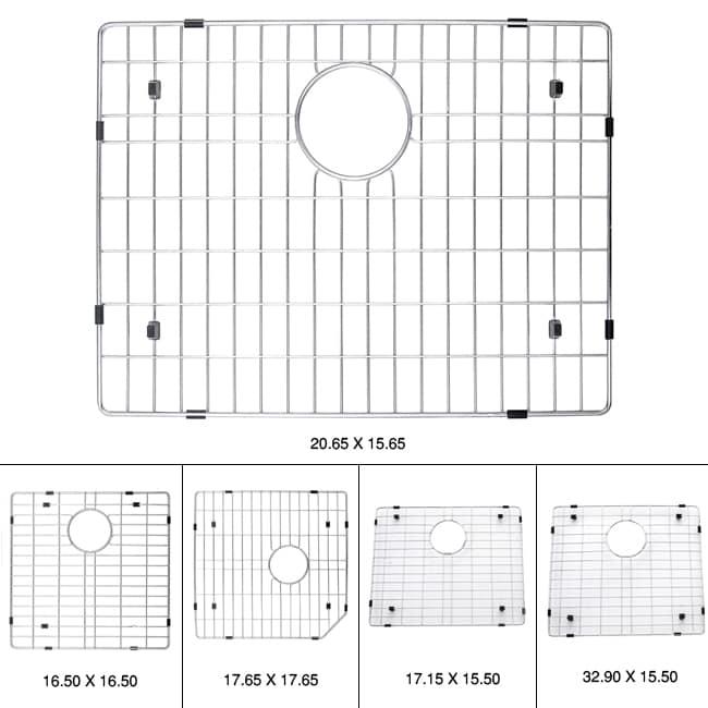 Kraus Kitchen Accessory Stainless Steel Sink Bottom Grid - 12700264 ...