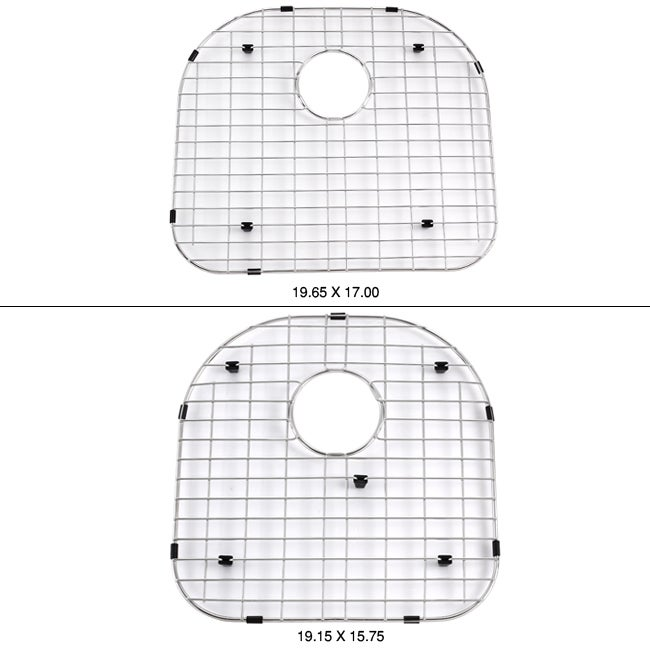 Kraus Kitchen Accessory Rounded Steel Sink Bottom Grid