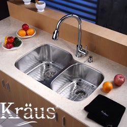 Kraus Kitchen Accessory Stainless Steel Sink Protective Bottom Grid
