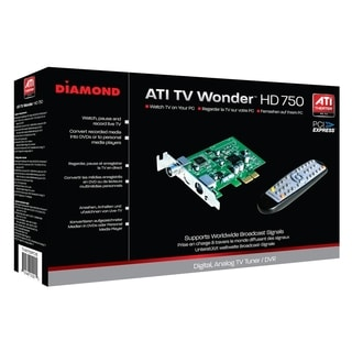 DIAMOND ATI Theater 750 PCIE HD TV Tuner Card