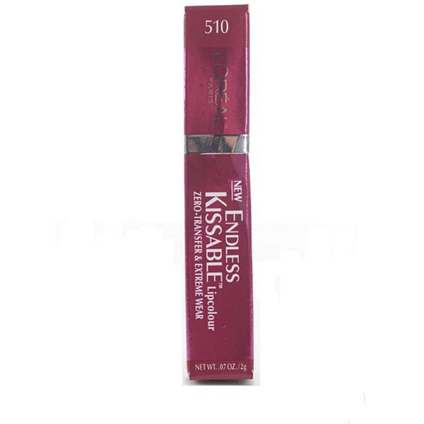 L'Oreal Endless Kissable 510 'Tres Mauve' Lip Colour (Pack of 4)