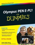 Olympus PEN E-PL1 For Dummies (Paperback)