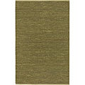 Hand-woven Hilo Lime Green Natural Fiber Jute Rug (9' x 13')