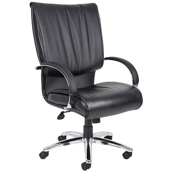 Boss High Back Leatherplus Bonded Leather Executive Chair
