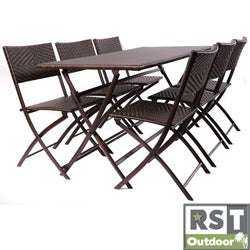 Red Star Traders Perfect Outdoor Folding Table/ Chair Set