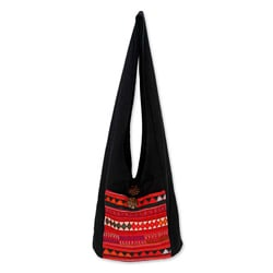 Cotton 'Akha Dreams' Shoulder Bag (Thailand)