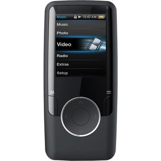 Coby MP620 4 GB Black Flash Portable Media Player