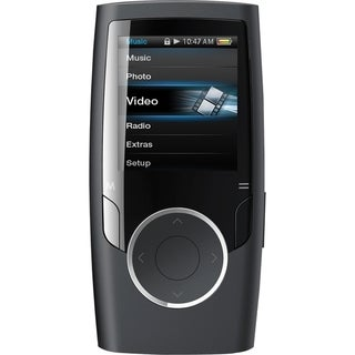 Coby MP601 4 GB Black Flash Portable Media Player