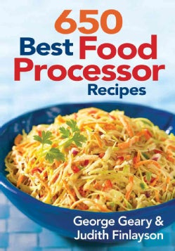 650 Best Food Processor Recipes (Paperback)