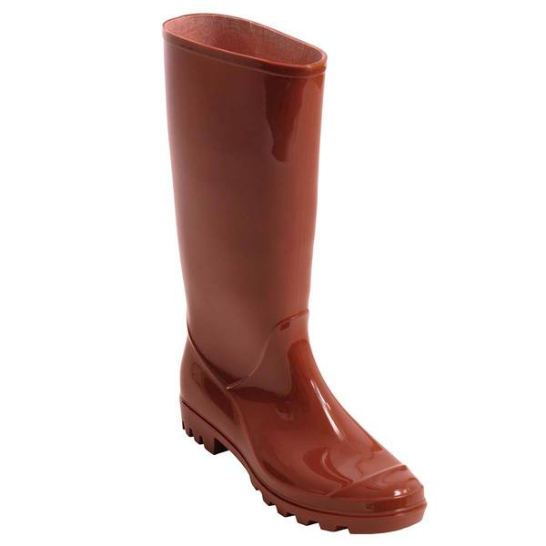 Adi Designs Women's Milk Chocolate Rain Boots