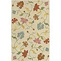 Hand-tufted Studio Beige Wool Rug (8' Square)