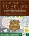 National Park Quarters Collector's Map 2010-2021 (Hardcover)