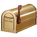 Salsbury Heavy-duty Brass Rural Mailbox