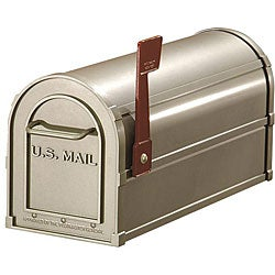 Salsbury Nickel Heavy-duty Rural Mailbox