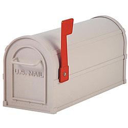 Salsbury Heavy-Duty Rural Beige Mailbox
