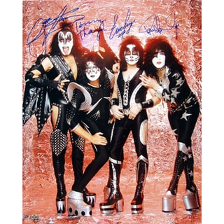 KISS Signed 16x20 Photo