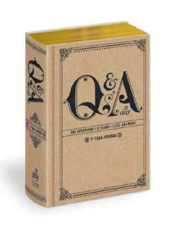 Q & a a Day: 5-year Journal (Notebook / blank book)