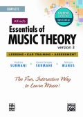 Alfred's Essentials of Music Theory: Version 3.0: Lessons, Ear Training, Assessment: Complete (CD-ROM)
