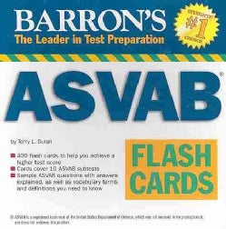 Barron's ASVAB Flash Cards (Cards)