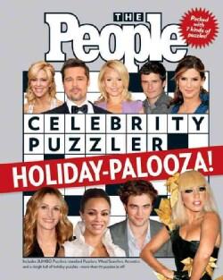 The People Celebrity Puzzler Holiday-Palooza! (Paperback)