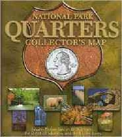 National Park Quarters Collector's Map (Hardcover)