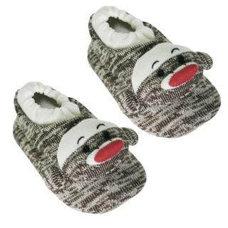 Muk Luks Children's Sock Monkey Slippers
