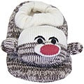 Muk Luks Children's Sock Monkey Slippers