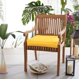 """Sunbrella Indoor/ Outdoor 20"""" Solid Chair Cushion"""