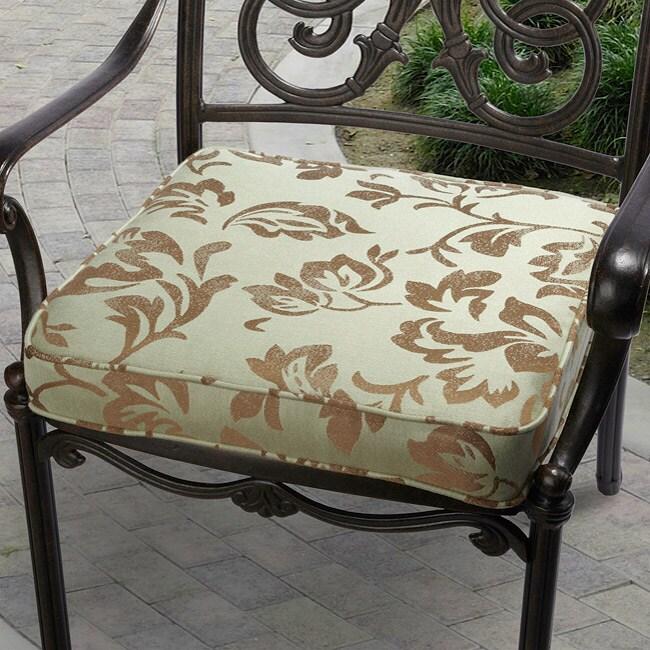 "Outdoor 20"" Chair Cushion with Sunbrella Fabric - Designer"