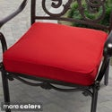"Outdoor 19"" Chair Cushion with Sunbrella Fabric - Solid Traditional"