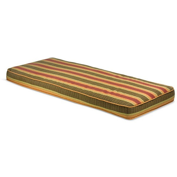 "Outdoor 48"" Bench Cushion with Sunbrella Fabric - Stripes"