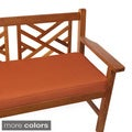 "Outdoor 48"" Bench Cushion with Sunbrella Fabric - Solid Traditional"